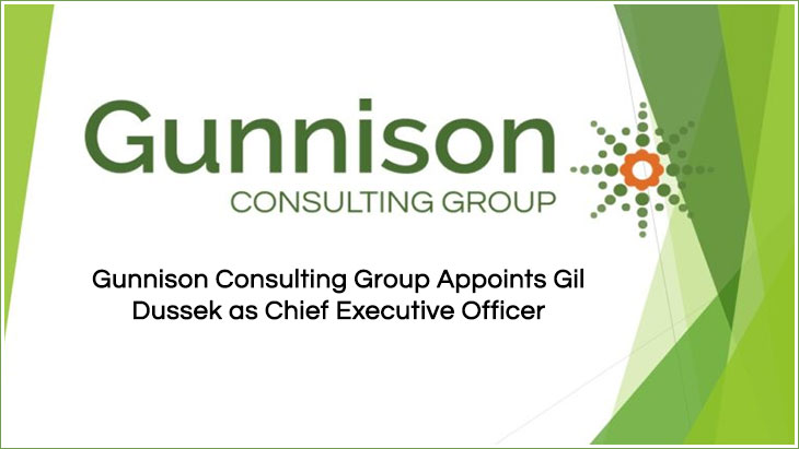 Gunnison Consulting Group Appoints Gil Dussek as Chief Executive Officer