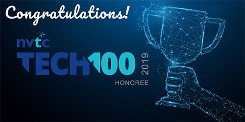Congratulations NVTC Tech 100 Award Twitter