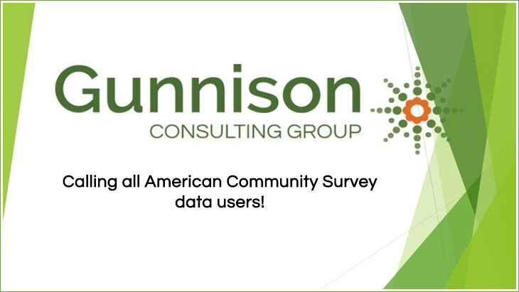 Calling all American Community Survey data users!