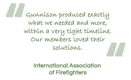 Gunnison International Association of Firefighters Testimonial